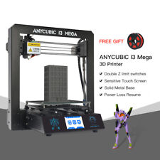Anycubic  i3 Mega Upgraded Full Assembly 3D Printer Nozzle Heatbed 210x210x205mm