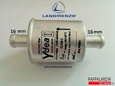 FILTRO MANUTENZIONE IMPIANTO A GAS GPL / METANO LANDI RENZO UNIVERSALE Ø 16 mm