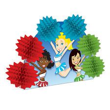 CHEERLEADER CHEERLEADING SPORTS HONEYCOMB POP OVER PARTY TABLE CENTREPIECE!