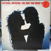 "Michael Jackson THE WAY YOU MAKE ME FEEL Disque 33t 12"" LP Maxi Single Disc 1987"