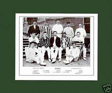 MOUNTED CRICKET TEAM PRINT - DERBYSHIRE - 1895