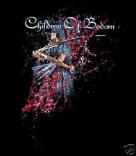 CHILDREN OF BODOM cd cv BLOODDRUNK SCYTHE Official SHIRT LAST MED New oop
