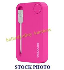 Incase Portable Power 2500 Cell Phone Charger Bank Pack Pink Magenta *NEW iPhone