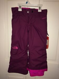 The North Face Girls Insulated HyVent Snow Ski Pants