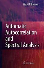Automatic Autocorrelation and Spectral Analysis by Petrus M. T. Broersen...