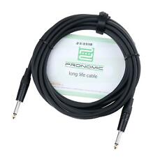 Jack Cable 6.3mm 1/4'' for Speaker Box Amp Audio Mono AUX Connect Lead Copper 5m
