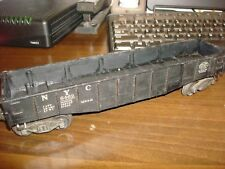 LIONEL O GAUGE No. 6462-100 NYC New York Gondola Car