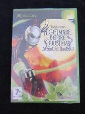 XBOX : TIM BURTON'S NIGHTMARE BEFORE CHRISTMAS : ATTENTI AL BAUBAU ! Nuovo, ITA