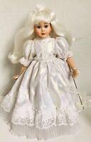 "Rare 14"" Vtg Porcelain Doll Kristen The Crystal Fairy By Patricia Rose"
