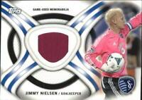 2013 Topps MLS Relics #JN Jimmy Nielsen Jsy