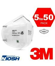 3M 9010 N95 NIOSH Approved Respirator Disposable Face Mask Cover KN95 5/10PCS