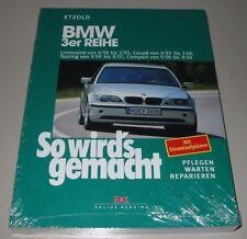 Reparaturanleitung BMW 3er Typ E 46 Limo Coupe Touring Compact Benzin Diesel NEU