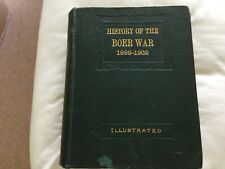 fine old antique book the history of the boer war 1899-1902 illustrated 975 page