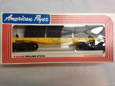 American Flyer Lionel 1983 Boston & Maine Log Carrier with logs 9002