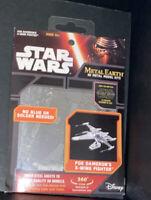 Fascination Star Wars 3D Metal Earth Model Kit New Poe Dameron's X-Wing Fighter.