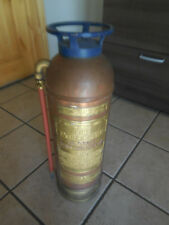 Vintage American La France All Copper Brass Foam Fire Extinguisher 2-1/2 Gallon