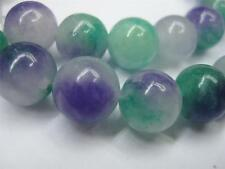 "Natural 10mm green Kunzite Round Gemstones Loose Beads 15"" ##HK1122"