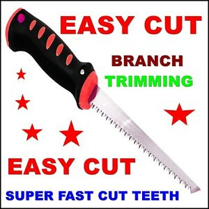 Garden Saw Fast Cut Easy Branch Trimming Pruning Tree Shaping Cutting Tool Sharp