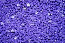 LEGO 100 PURPLE  ROUND BRICKS 1x1 PIN BRICKS ( lego city,friends,elves )