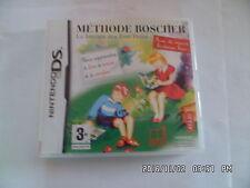 JEU NINTENDO DS  3DS : METHODE BOSCHER   rare !!!! J16
