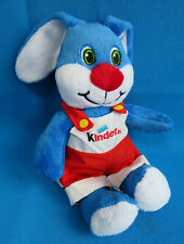 "10"" soft toy DUNGAREES BUNNY RABBIT collectible 🌟 KINDER EGGS CHOCOLATE FERRERO"