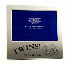 "Twins Photo Frame Photograph Picture Gift Portrait 5x3.5"" 73475"
