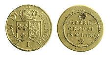 pcc1839_60) Peso monetale Luigi di Francia c/retro Fabbrica Greppi in Milano