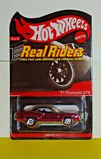 HWC Series Eleven Real Riders '71 Plymouth GTX #4 of 6 (Sold Out)