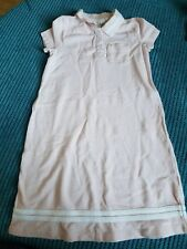 light pink girl 4-6 years girl polo dress with collar new no tag h&m