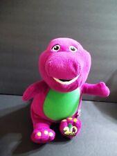 "New ListingBarney The Purple Dinosaur 2008 Lyons Group Glittery Talks Sings Lights Up 15"""