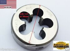 "Lighthouse quality tools® - M15X1 Rh Hss Round Threading Die 1-1/2"" Od"