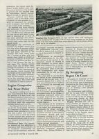 1945 Aviation Article Douglas Aircraft Scrapping A-20 Bomber Tooling Jigs