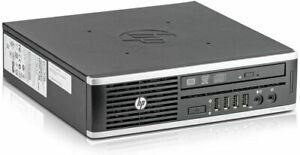 HP Computer 8300 Elite USDT PC i3-3220 3.3GHz 8GB 240GB SSD Wins 10 Home
