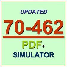 Latest 70-462 Verified Practice Test 462 Exam QA PDF+Simulator