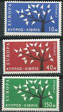 CHIPRE CYPRUS EUROPA cept 1962 Sin Fijasellos MNH