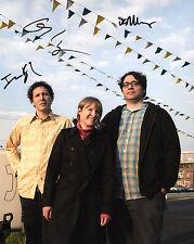 GFA Indie Rock Band * YO LA TENGO * Signed 8x10 Photo PROOF Y1 COA