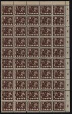 Lithuania 1937 SC 304,MNH block of 50 . LB126