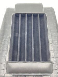 Venlo Leather Case For 5 Pens