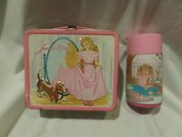 "VINTAGE 1978 ""JUNIOR MISS"" METAL LUNCH BOX / THERMOS BY ALADDIN"