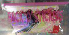 "VERY HTF! 2008 Sanrio My Melody & Kuromi ""Pack O Stickers""! NEW"