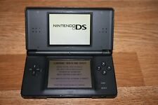 Nintendo DS Lite Handheld Console Onyx Black used