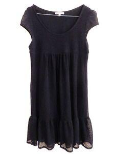 Sandro - Dress - Black - Size 36fr - Authentic