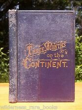 1874 OLD LIVERPOOL PARIS BERLIN RUSSIA NAPLES TRAVEL GUIDE EUROPE LAKE SUPERIOR