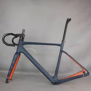 Carbon Fiber Gravel BIke Frame Road Racing Bicycle Frameset 49/52/54/56/58cm