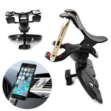 360° Universal Car CD Slot Holder Clip Mount Cradle Stand For Mobile Phone GPS