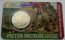 België speciale 2 euro 2019 Pieter Bruegel in Coincard Waals