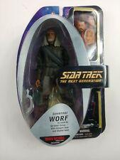 Star Trek Diamond Select TNG Governor Worf Klingon figure art asylum