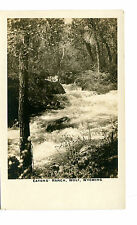 Vintage RPPC Postcard EATONS' RANCH WOLF WYOMING WY Waterfall