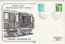 GB Stamps Souvenir Royal Mail Travelling Post Office, Crewe - Glasgow SC 1978