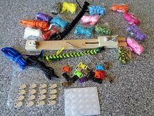 "Paracord Bracelet  Kit With 10"" Adjustable Jig, Hemostat,Paracord,Charms,Buckles"